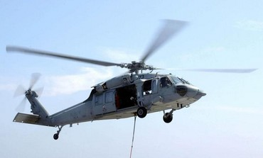 MH-60S Knighthawk helicopter.