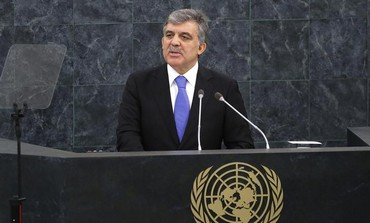 Turkey's President Abdullah Gul.