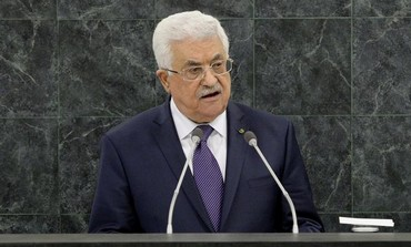Palestinian Authority President Mahmoud Abbas addresses UN General Assembly, September 26, 2013.