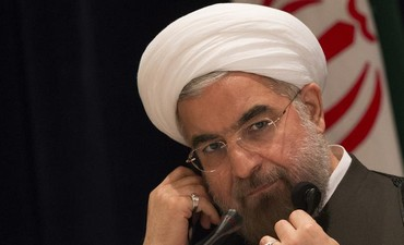 Iran's President Hassan Rouhani.