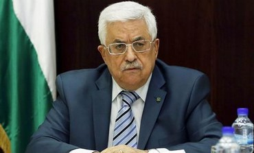 Palestinian Authority President Mahmoud Abbas at a PLO meeting in Ramallah, October 2, 2013.