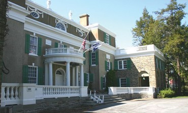 Springwood, the birthplace of Franklin Delano Roosevelt.