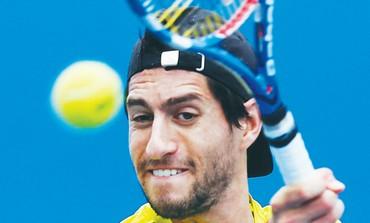 Israeli tennis star Amir Weintraub
