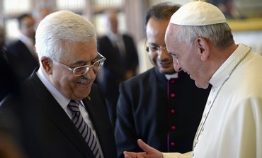 Pope Francis hosts Abbas at Vatican