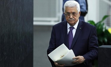 Palestinian Authority President Mahmoud Abbas at the UN General Assembly.