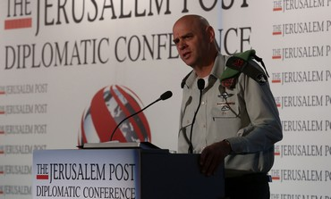 Maj.-Gen. Noam Tibon, commander of the IDF Northern Corps at the Jerusalem Post Conference, Oct 24.