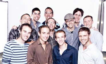 RA'ANANA-BASED acapella group Kippalive.