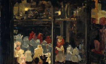 Shop window by Isaac Israels, 1894-1898