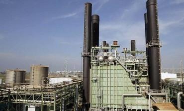 Gaza's power plant.