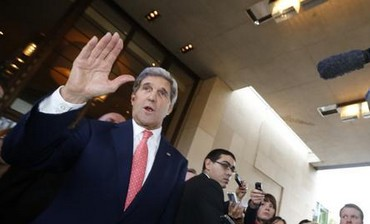 John Kerry in Geneva