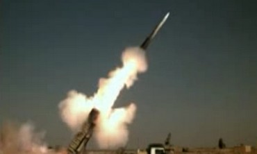 Iran anti-rocket missile