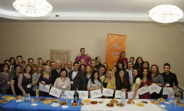 PARTICIPANTS OF Limmud FSU's Odessa conference