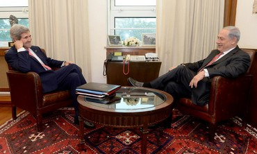 US Sec. of State kerry and  PM Netanyahu meet in Jerusalem, Dec 5, 2013