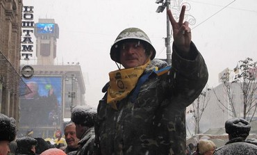 Protests in Kiev, Ukraine, December 12, 2013