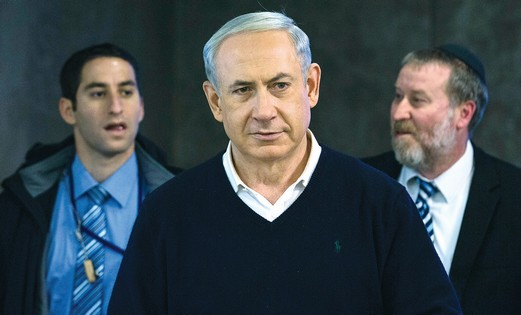 'Dar Al Khaleej' claims PM Netanyahu's isolation outside Israel has become internal as well.