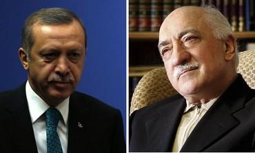 Turkish Prime Minister Tayyip  Erdogan and US-based cleric Fethullah Gulen.
