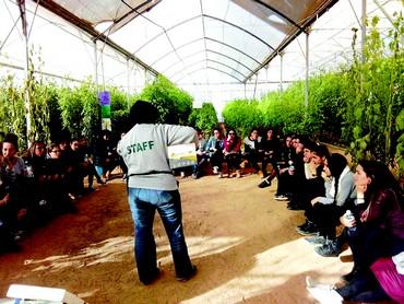 Ateliers, visites, les élèves découvrent de nombreux parcours professionnels en Israël