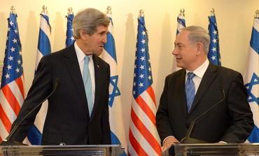 Prime Minister Binyamin Netanyahu and US Secretary of State John Kerry.