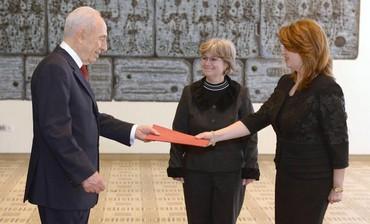 Andrea Pasternac, the Ambassador of Romania