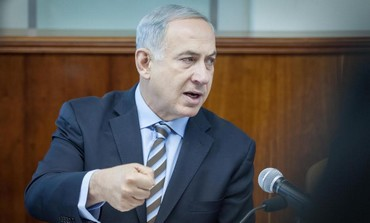 Prime Minister Binyamin Netanyahu at Sunday's cabinet meeting, January 5, 2014.