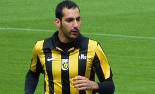 Israeli defender Dan Mori of Vitesse Arnhem.