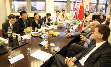 Israeli and Chinese academics sign cooperation agreement