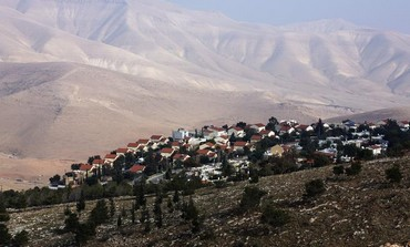 West Bank settlement of Maale Efrayim in the Jordan Valley.