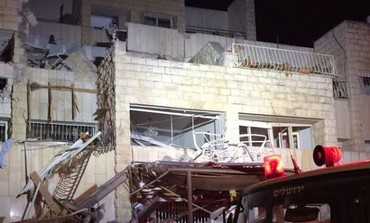 Jerusalem gas explosion, January 20, 2014.