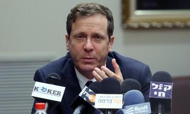 Labor leader Isaac Herzog.