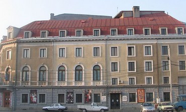 State Jewish Theater, Bucharest, Romania.
