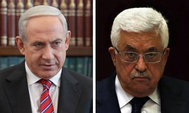 Netanyahu and Abbas