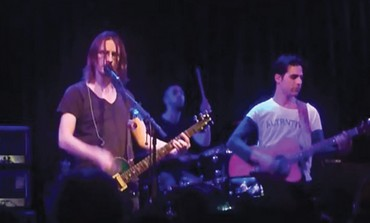Steven Wilson (L) and Aviv Geffen of Blackfield