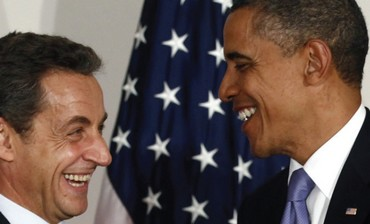 DIRECT UNFILTERED substantiation of bias – Obama and Sarkozy at Cannes in November 2011.