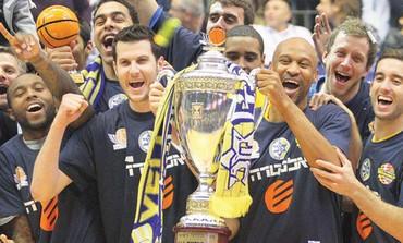 Maccabi Tel Aviv celebrates its State Cup triumph