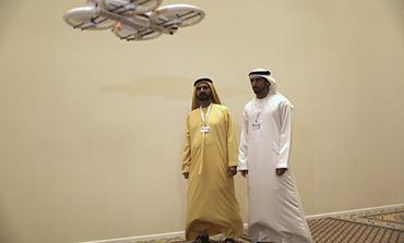 UAE drone testing