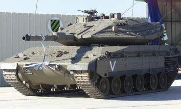 THE MERKAVA Mark IV is the IDF Armored Corps' most advanced tank.