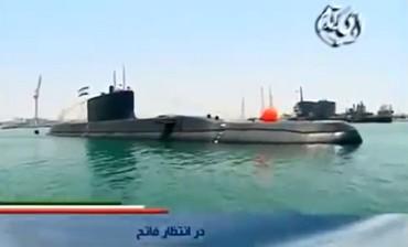 Iran's new Fateh-class submarine