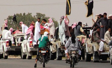 Funeral convoy of slain Islamists, Sinai.