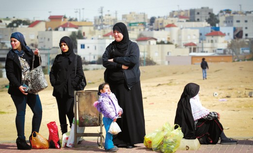 Beduin women in the Negev