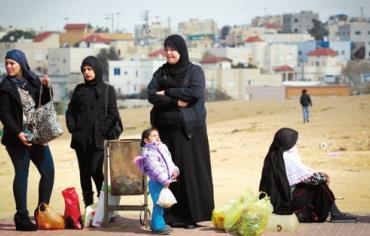 Bedouin women in the Negev