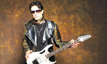 Rock guitarist Steve Vai
