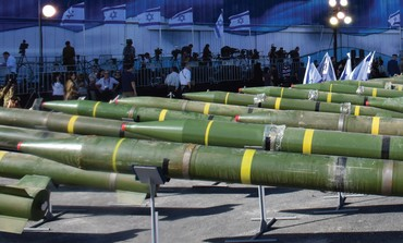 Line-up of missiles