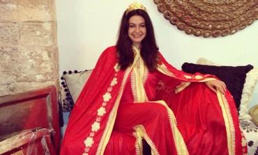Marina Smolyanov as Queen Esther on Purim 2013