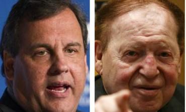 Chris Christie Sheldon Adelson