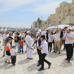 Orphans celebrate bar mitzva at Kotel
