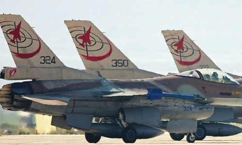 ISRAEL AIR FORCE F16c's
