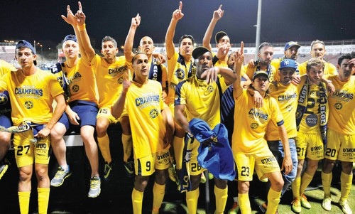 Maccabi Tel Aviv wins second straight Premier League championship