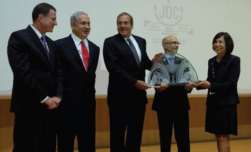 JDC honors Yechiel Eckstein