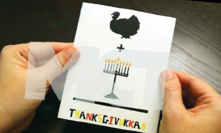 convergence of Hanukka and Thanksgiving in 2013 allowed Jewish-Americans to embrace two identities a