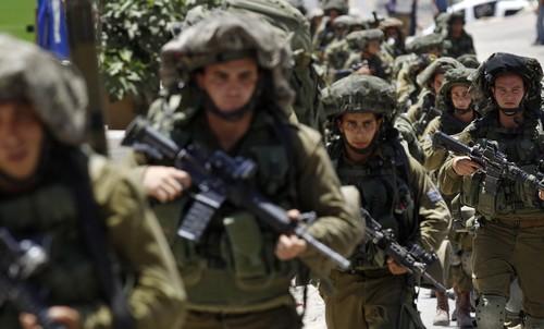 IDF troops in Hebron